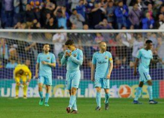 Barcelona Kalah dari Levante Ketika Messi serta Suarez Absen