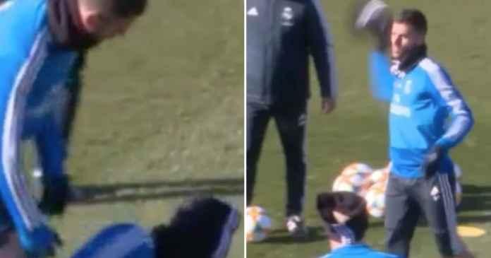 Ceballos Maafkan Bek Madrid Yang Telah Menekel Dirinya saat Latihan