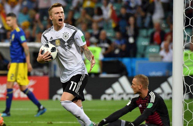 Fans Timnas Jerman Pilih Reus Menjadi Pemain Paling Apik