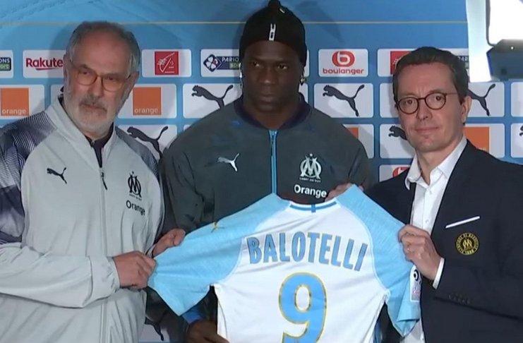 Marseille Umumkan Balotelli Sebagai Pemain Anyar dengan Cara Tak Biasa