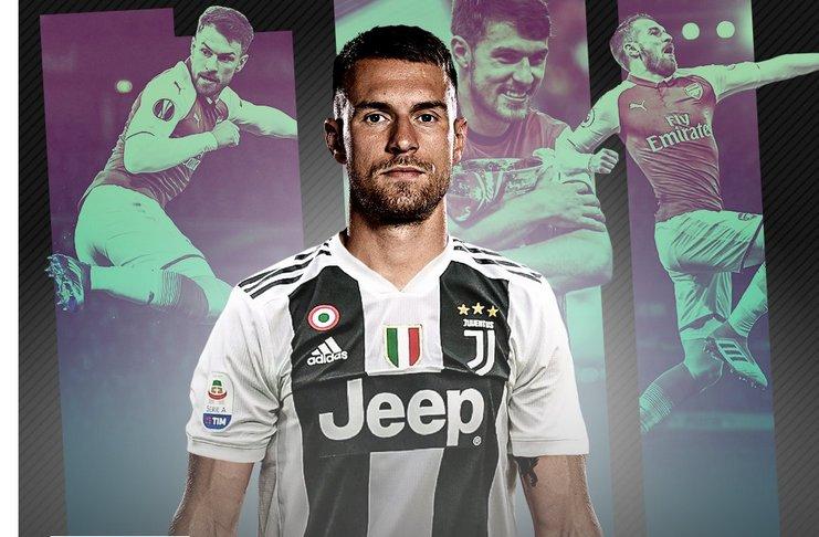 Ramsey Menyepakati Kontrak Lima Tahun di Juventus