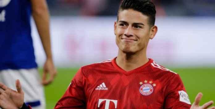 Real Madrid Lebih Senang Lepaskan James ke Tottenham Ketimbang Arsenal