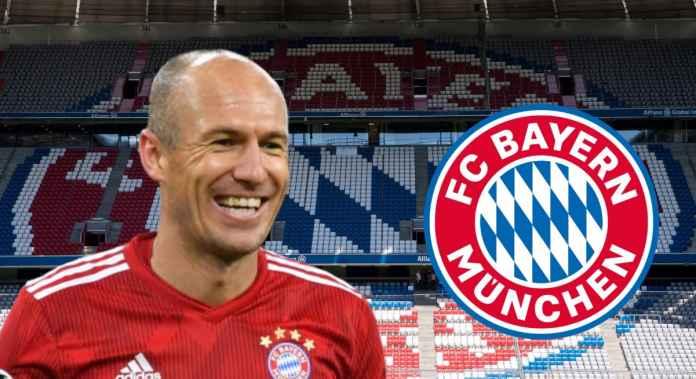 Robben Terharu Mengetahui Inter Milan Tertarik Padanya