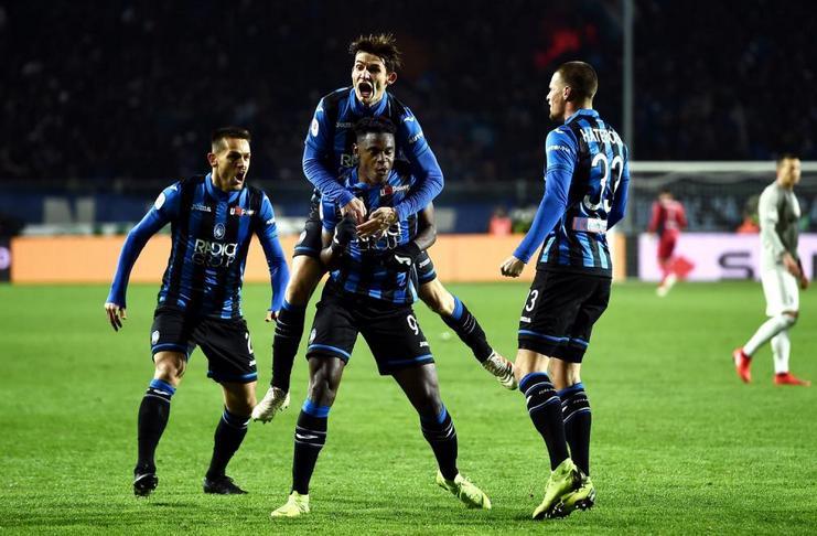 Zapata Mengantarkan Atalanta Bungkam Juventus di Coppa Italia