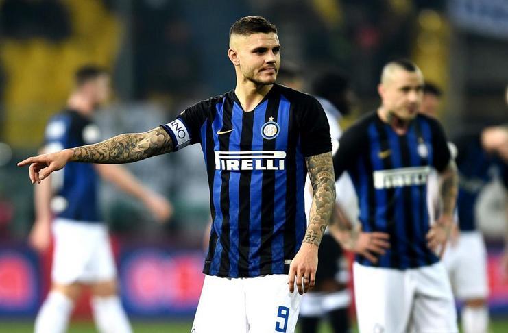 Inter Telah Resmi Mencopot Ban Kapten dari Icardi