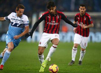 Milan Mengimbangi Lazio di Semifinal Leg Pertama Coppa Italia