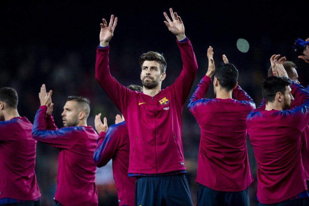 Pique Belumlah Puas Usai Barcelona Tundukkan Valladolid
