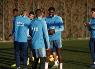 Valverde Tidak Ingin Secepatnya Menampilkan Umtiti