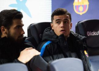 Coutinho Dinilai Memang Pantas Duduk di Bangku Cadangan