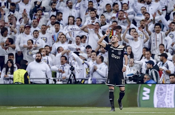 Deretan Fakta Menarik Ajax yang Bungkam Real Madrid