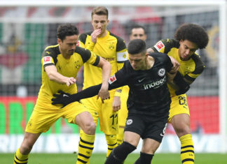 Frankfurt Berjanji Bakal Membantu Dortmund Menjuarai Bundesliga