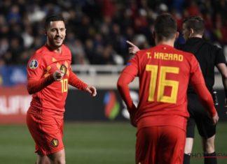 Hazard serta Batshuayi Mengantarkan Belgia Tekuk Siprus