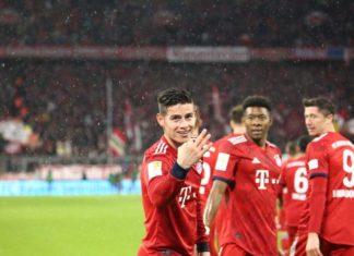 James Cetak Hattrick Ketika Bayern Pesta Gol ke Gawang Mainz