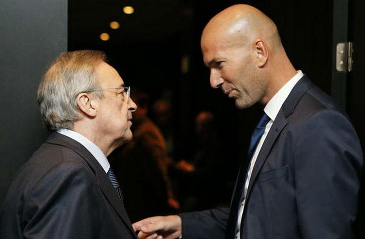Zidane Telah Resmi Kembali Menggantikan Solari di Real Madrid