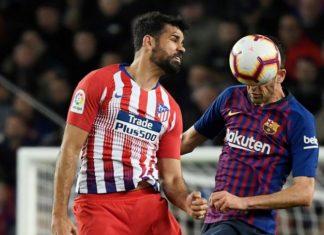 Alasan Diego Costa Mendapatkan Kartu Merah saat Hadapi Barcelona