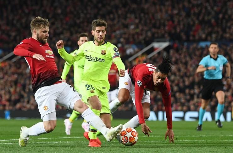 Barcelona Menaklukan Manchester United di Old Trafford