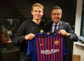 De Jong Dapat Mengatasi Tekanan Bersama Klub Anyarnya