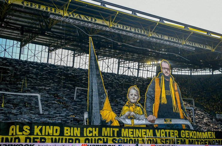Dortmund Memecahkan Torehan Apik dari Jumlah Penonton