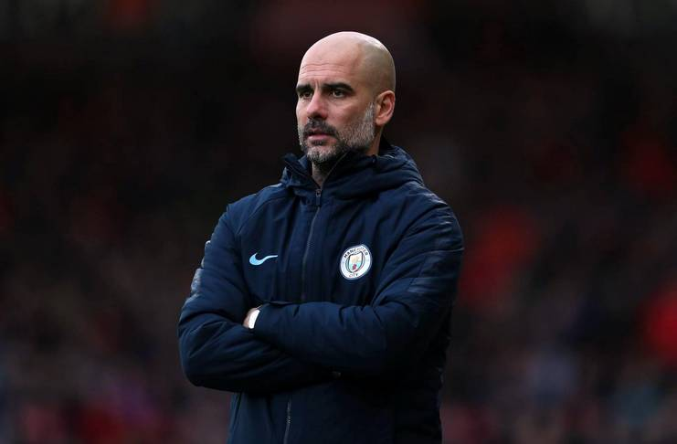 Guardiola Enggan Berpikir Soal Meraih Empat Gelar Juara