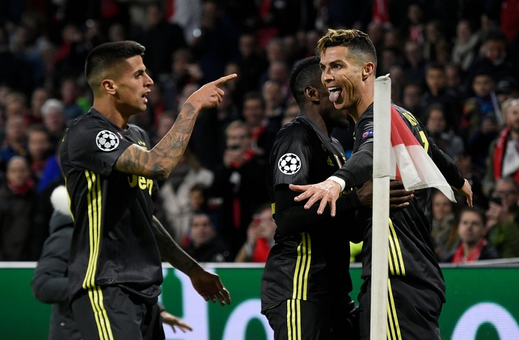 Juventus Berhasil Tahan Imbang Ajax Amsterdam di Leg Pertama