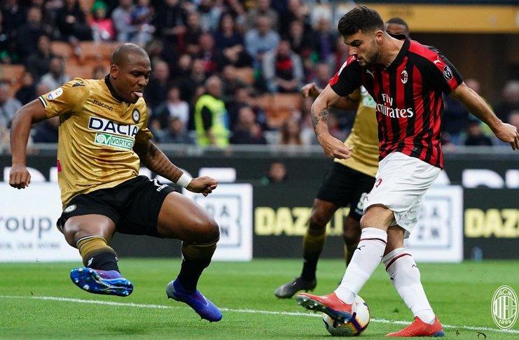 Milan Ditahan Imbang Udinese di San Siro