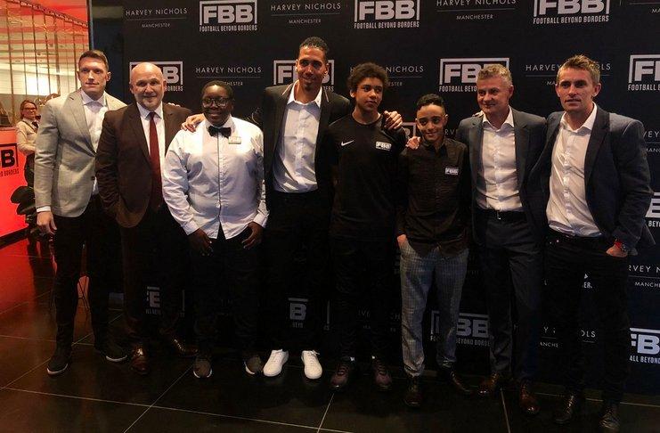 Pemain Bertahan MU Bahagia PFA Gelar Kampanye Melawan Rasisme