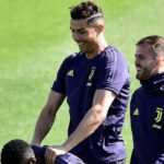 Skuad Juventus Terlihat Tenang Ketika Berlatih Menjelang Menjamu Ajax