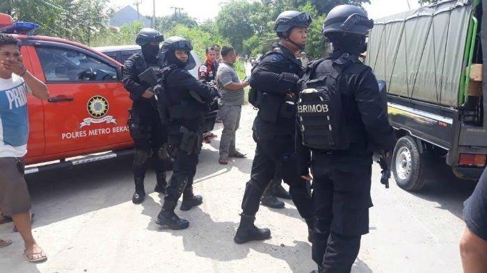 Penangkapan 2 Buronan Teroris di Bekasi